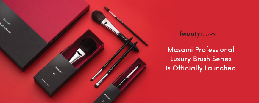 Masami Professional Luxury Brush Series is Officially Launched