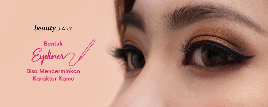 Karakter Kamu Berdasarkan Bentuk Eyeliner