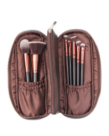 Vegan Brush Set Brown 7p