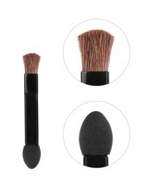 Double Sided Sponge and Brush 4 Pieces