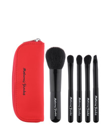 Travel Brush Set - Red 5p