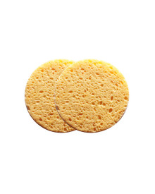 Cellulose Cleansing Sponge - 2 Pieces
