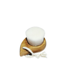 Flat Bamboo Cleansing Brush