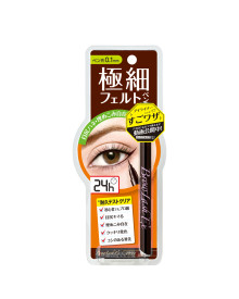 0.1mm Slim Liquid Eyeliner Brown Browlash Ex