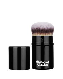 Small Retractable Kabuki Round Foundation Brush