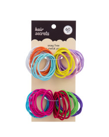 60 pcs Snag Free Hair Tie