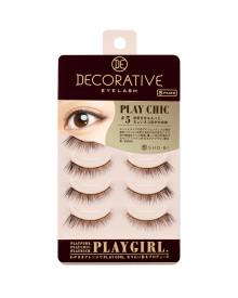 Play Chic 5 Eyelashes 5 Pairs