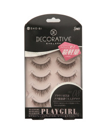 Playgirl Eyelashes No.8 5 Pieces