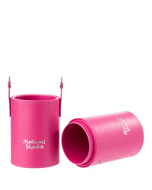 Pink Travel Brush Holder