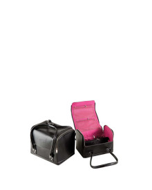 Carry-On Makeup Case in Black Femme