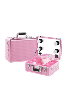 Mini Makeup Case in Pink Diamond