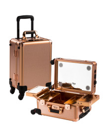 Rose Gold Satin M Case with Flat LED & Stereo