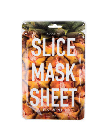 12p Pineapple Slice Mask Sheet
