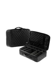 Black Travel Makeup Bag