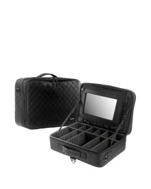 Professional Makeup Bag with Mirror
