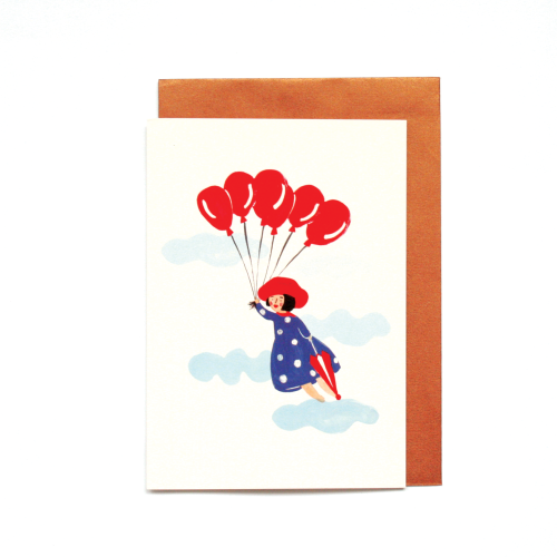 Little Girl Birthday Card