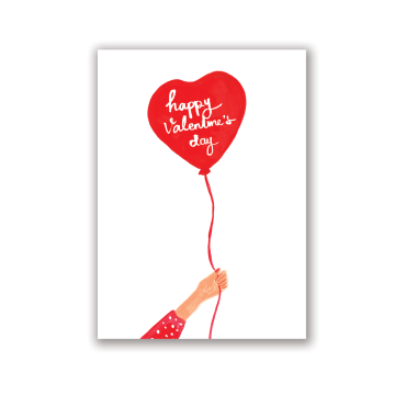Heart Balloons Card image