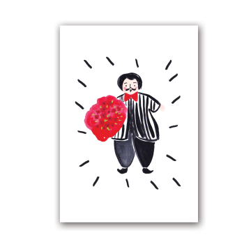 A Man with Love Card image
