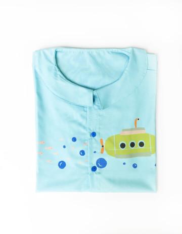Submarine Vintage Blouse T- Shirt image