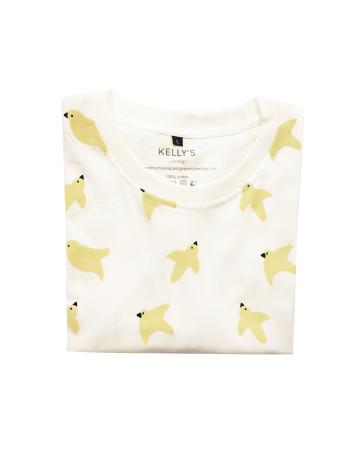 Birds Patterns Oversize T- Shirt image