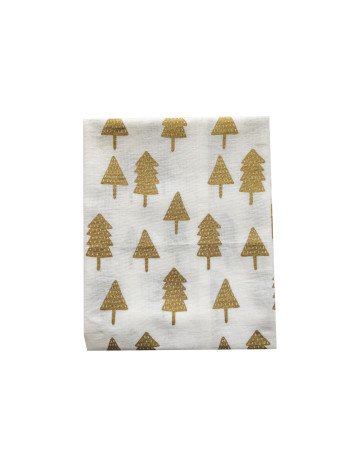 Gold Christmas Tree Tea-Towel image