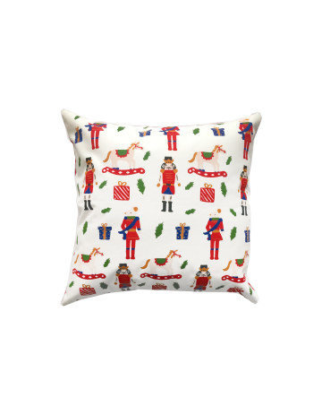 Mr. Nutcraker and Friends Cushion Cover (Cover Only) image