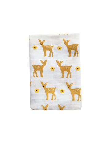 Hill Top Deer Tea-Towel image