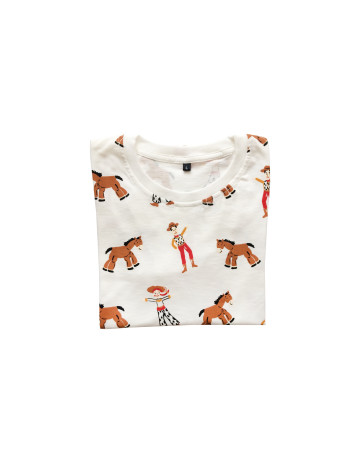 Little Toys Story Pattern T-Shirt image