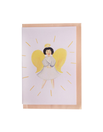 Angel In Yellow Card image