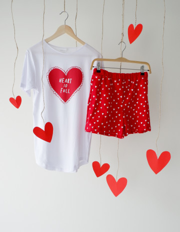 Heart Sleepwear Set image