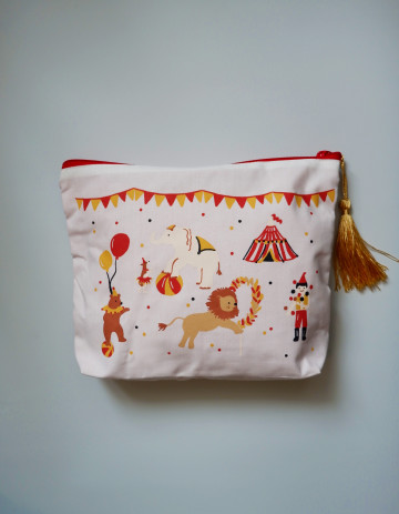 Circus Diaper Pouch image