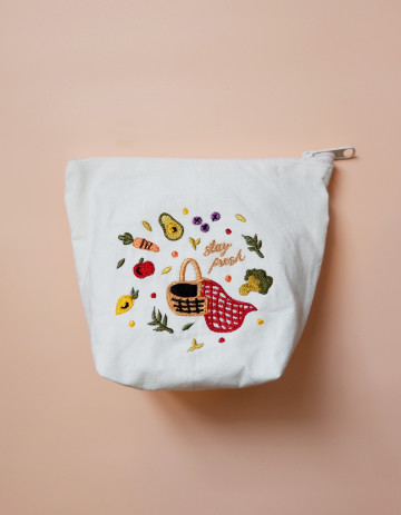 Stay Fresh Embroidery Pouch image