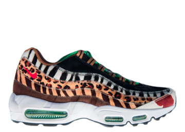 best loved bd12c 394a2 Nike Air Max 95 Atmos Animal Pack 2.0 (2018 All Black Box) image