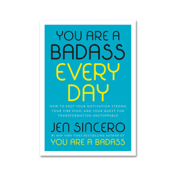 Jen Sincero : You Are a Badass Every Day image