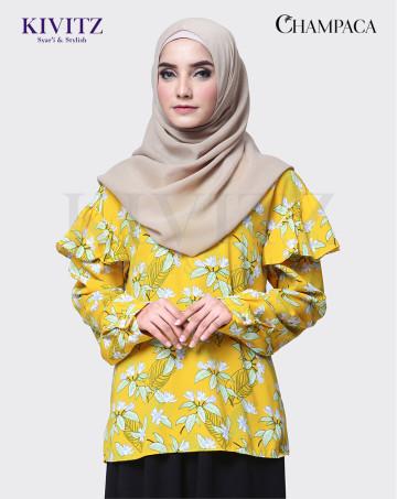 ALMA TOP (Yellow Pattern) image