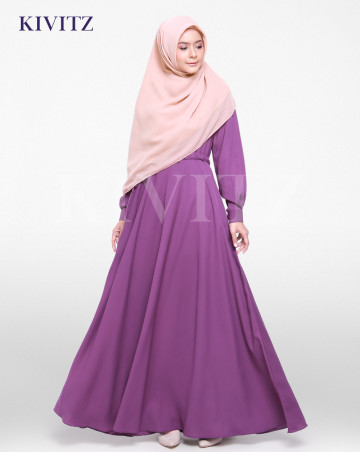 FIZA DRESS (Violet) image