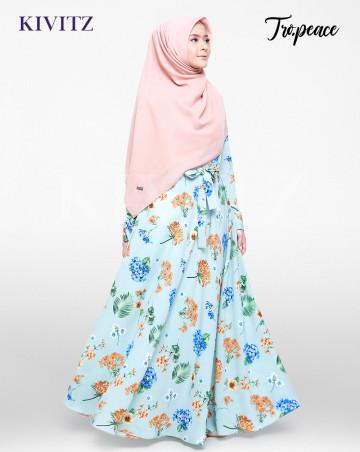 LUCY DRESS (AQUA) image
