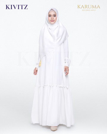 AZZAHRA DRESS (Broken White) image