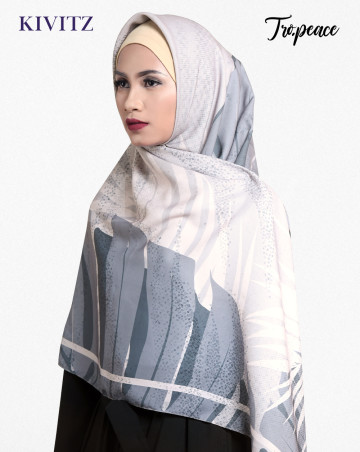 PANAMA LIMITED SCARF - VOAL (Stone Grey) image