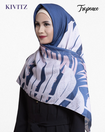 PANAMA LIMITED SCARF - VOAL (Summer Navy) image