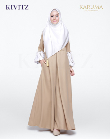 SAADA DRESS (Brown) image