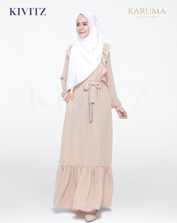 SYARIFA DRESS (Brown) image