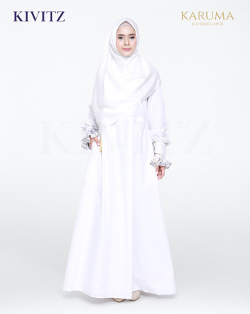 AZZA DRESS (Broken White) image