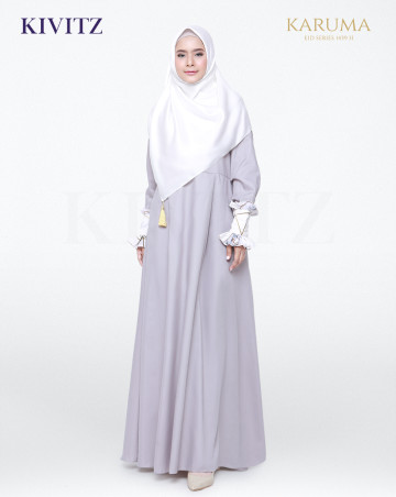 AZZA DRESS (Grey) image