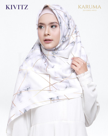 MARBLE LIMITED SCARF (Broken White) image
