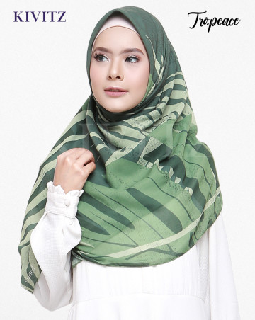 PANAMA LIMITED SCARF - VOAL (Tropical Green) image