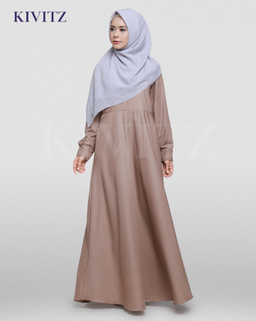 NEW BASIC DRESS (Brown) image