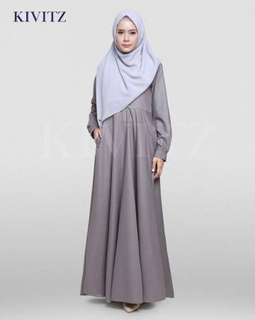 NEW BASIC DRESS (Grey) image