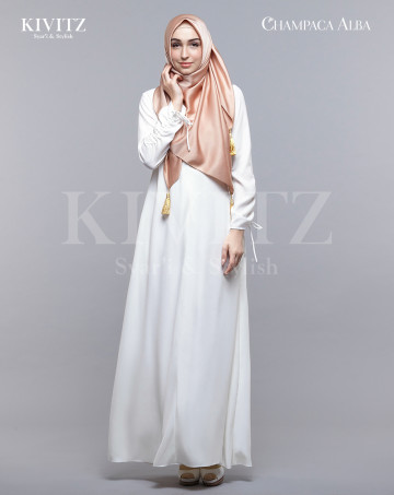 ALBA DRESS (Putih Gading) image