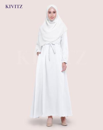 KAYRA DRESS (Broken white) image